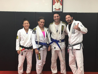 Congrats to new Foundry Blue Belts