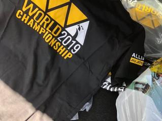 2019 Worlds T-shirts