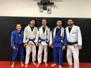 New Blue Belts