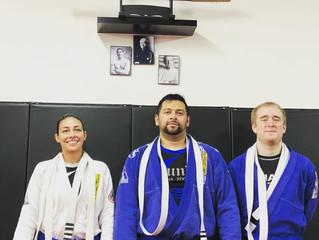 3 new Blue Belts