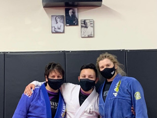 Congratulations to our new Purple Belt