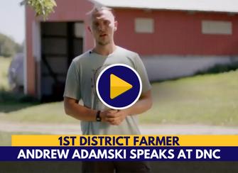 WATCH: Upper Peninsula Farmer speaks at DNC