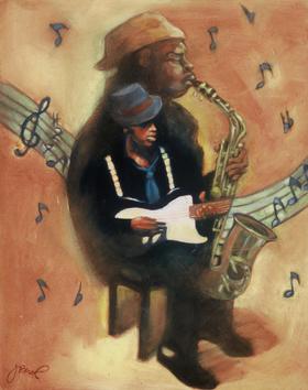Blues inside Jazz