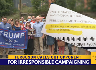 Ferguson calls opponent's GOP kickoff 'reckless and desperate'