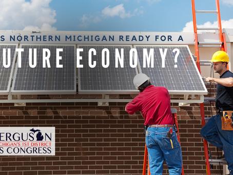 """Ferguson's econ plan: """"Our district is ready for a #FutureEconomy"""""""