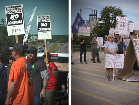 Ferguson announces solidarity with local union picketers