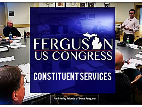 Ferguson announces plan for constituent services