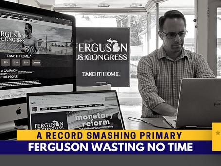 Ferguson prepares to move district forward