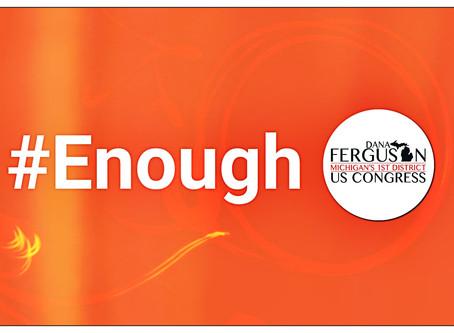 Bergman votes no on background checks, Ferguson makes Sandy Hook Promise on Awareness Day