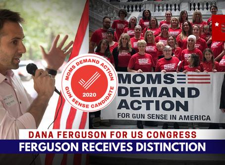 Ferguson receives distinction from esteemed group of moms demanding gun sense