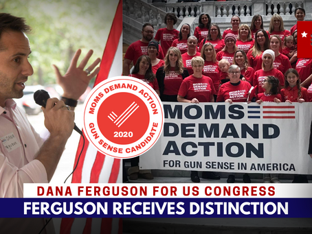 Ferguson receives distinction from esteemed group of moms demanding gun sense