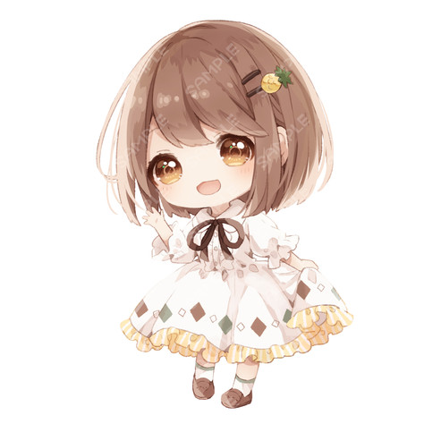ミニキャラ(二頭身)