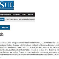 Jornal O SUL 12.09.2016