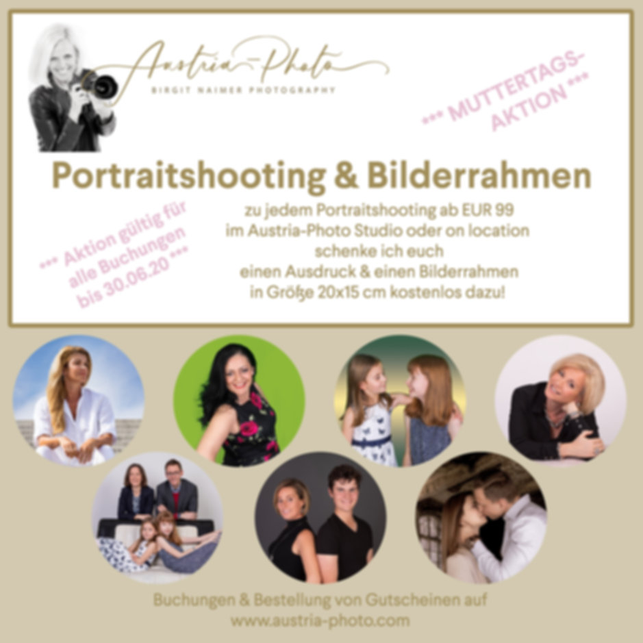 Muttertag Gutschein Photo Fotoshooting