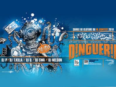 DINGUERIE !!! SOIREE DE CLOTURE DU NL CONTEST