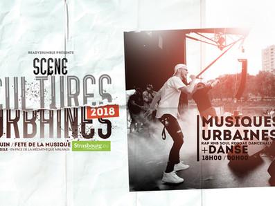 FETE DE LA ZIK : SCENE CULTURES URBAINES 2018