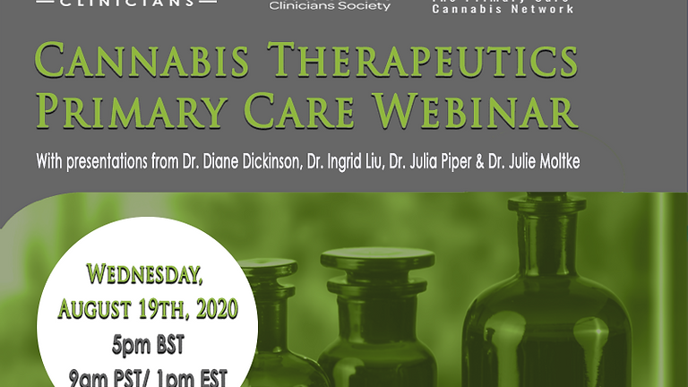 Cannabis Therapeutics Primary Care Webinar