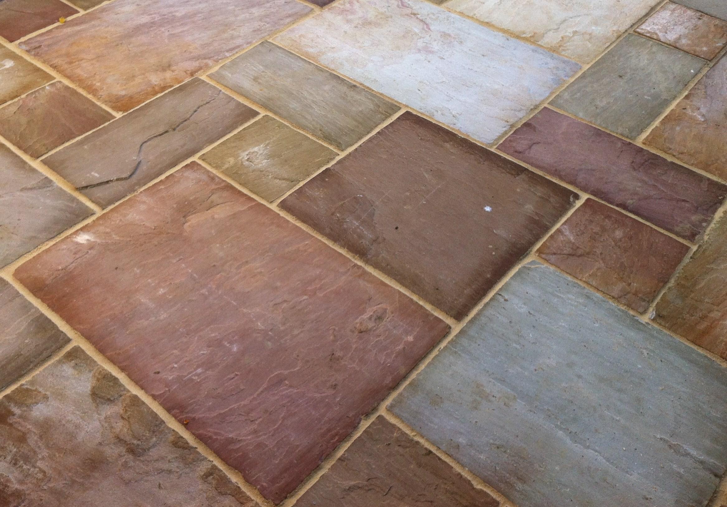 Natural sandstone slabs