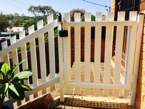 Back of Picket gate