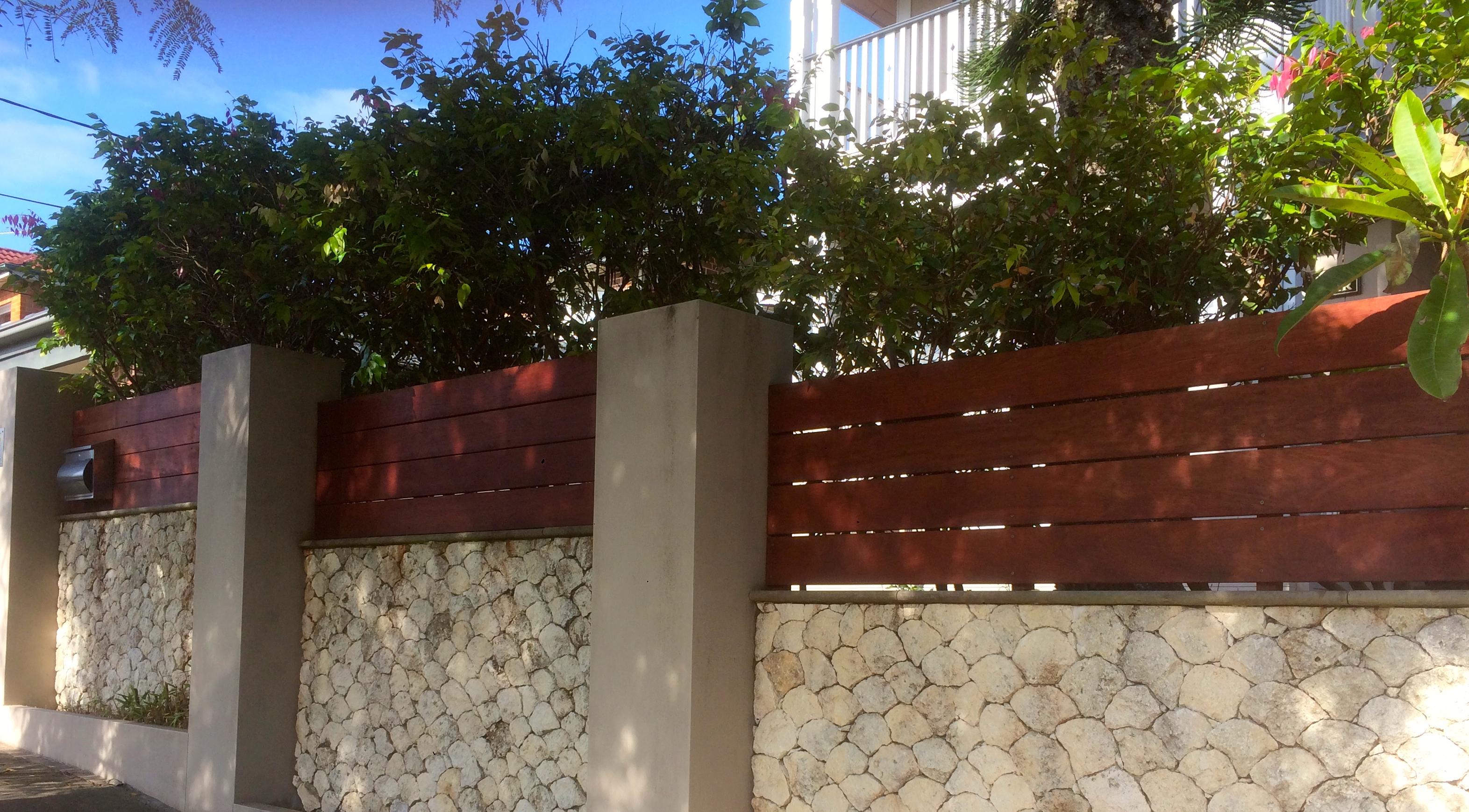 Hardwood Privacy Screens