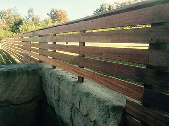 Best Beaches Fencing Horizontal Slat Fencing.