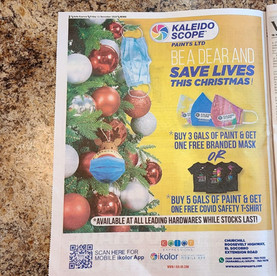 Kaleidoscope Paints Press Ad