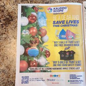 Kaleidoscope Paints Press Ad
