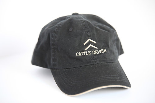 """Vintage"" Black Cap"