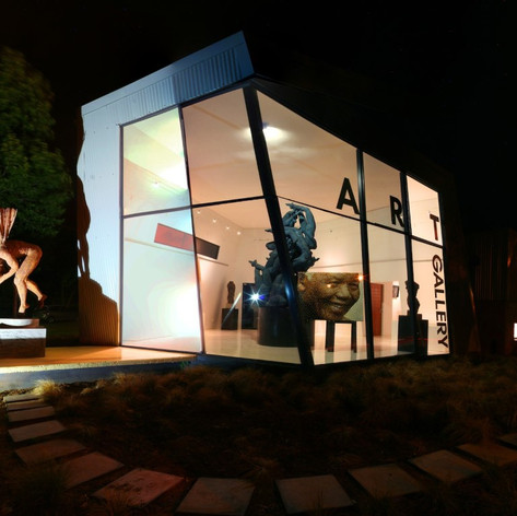 Night View - New Art Gallery - XO Architects
