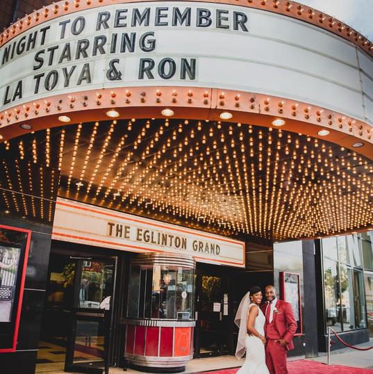 La Toya & Ron photos by Eduardo Murillo Photography