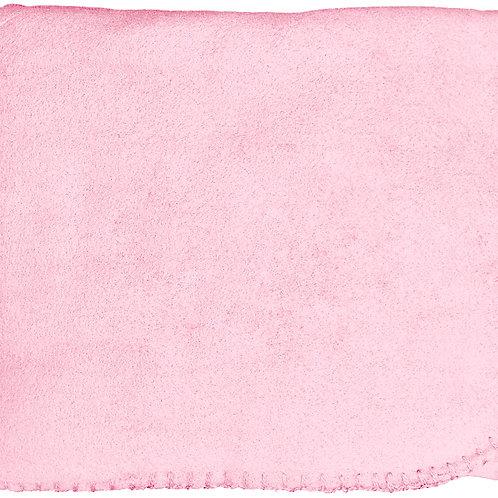 """50""""X60"""" Whipstitch Fleece Blanket - Pink"""
