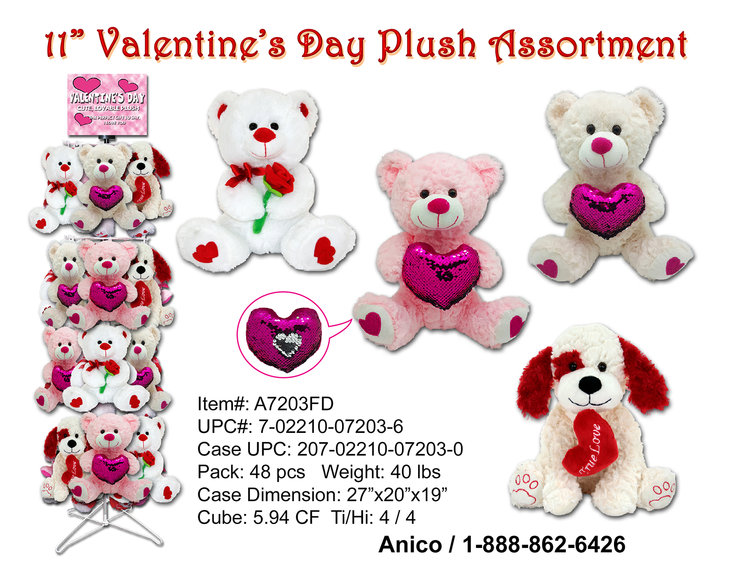 A7203FD Valentine Plush Sheet 021419 cop