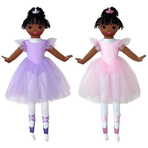 "36"" La Bella Ballerina - African American"
