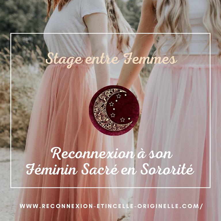 Stage Se Reconnecter et Guérir son Féminin Sacré