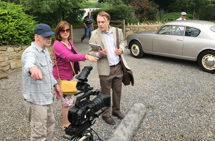 Filming On Set