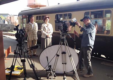 Filming On Platform