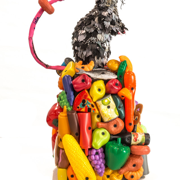 Rat with Rubbish, 2019