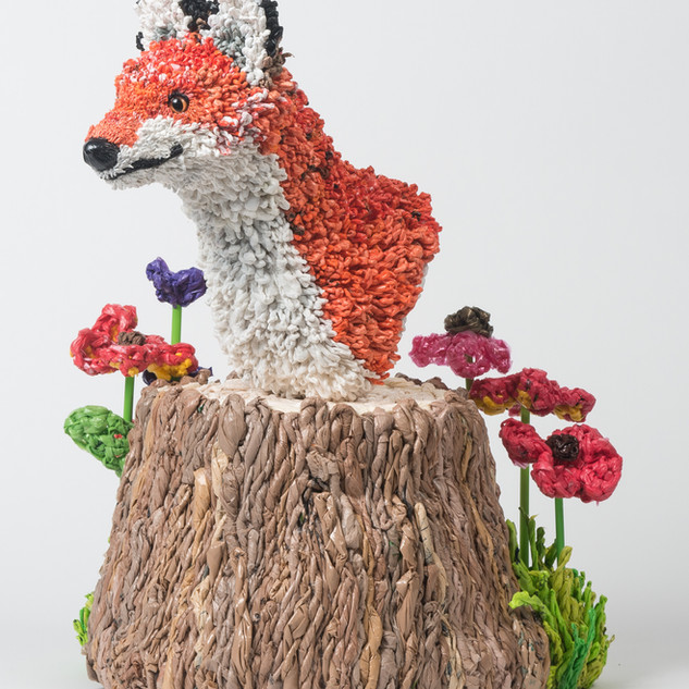 Plastic Planet Fox Bust, 2015