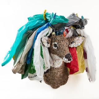 Plastic Planet Stag, 2018