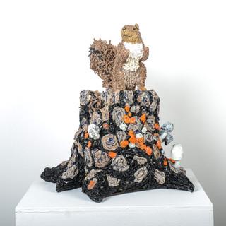 Plastic Planet Fox Squirrel, 2016