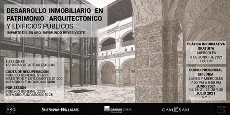 DESARROLLO INMOBILIARIO EN PATRIMONIO ARQUITECTÓNICO Y EDIFICIOS PÚBLICOS