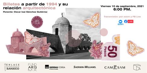 BILLETES A PARTIR DE 1994 Y SU RELACIÓN ARQUITECTÓNICA