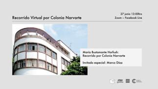 RECORRIDO VIRTUAL POR COLONIA NARVARTE