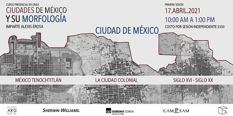 CARTEL (CIUDADES DE MÉXICO Y SU MORFOLO