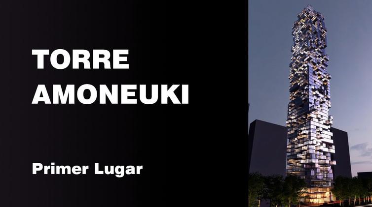 PRIMER LUGAR: Torre Amoneuki  Integrantes: Josè Armando Mireles Armando Criollo Aliendres Guillermo Gònzales Roblero Daniel Juàrez Ruìz