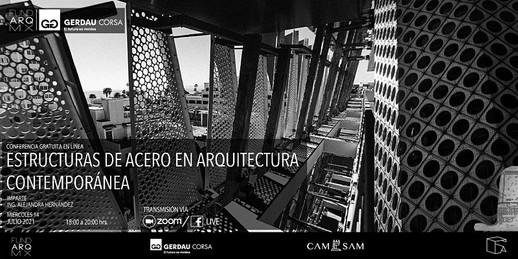 ESTRUCTURAS DE ACERO EN ARQUITECTURA CONTEMPORÁNEA