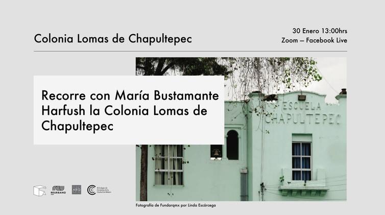 eventbrite_recorrido Lomas de Chapultepe