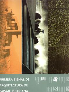 PRIMERA BIENAL DE ARQUITECTURA DE PAISAJ