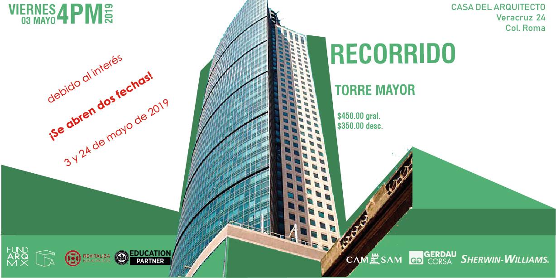 TORRE MAYOR-3MAY19