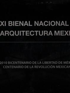 XI Bienal Nacional de Arquitectura Mexicana